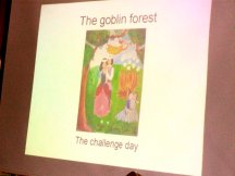 It was an amazing talk given in the form of a fairy tale.