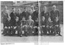 Ellis Avenue chess teams 1954